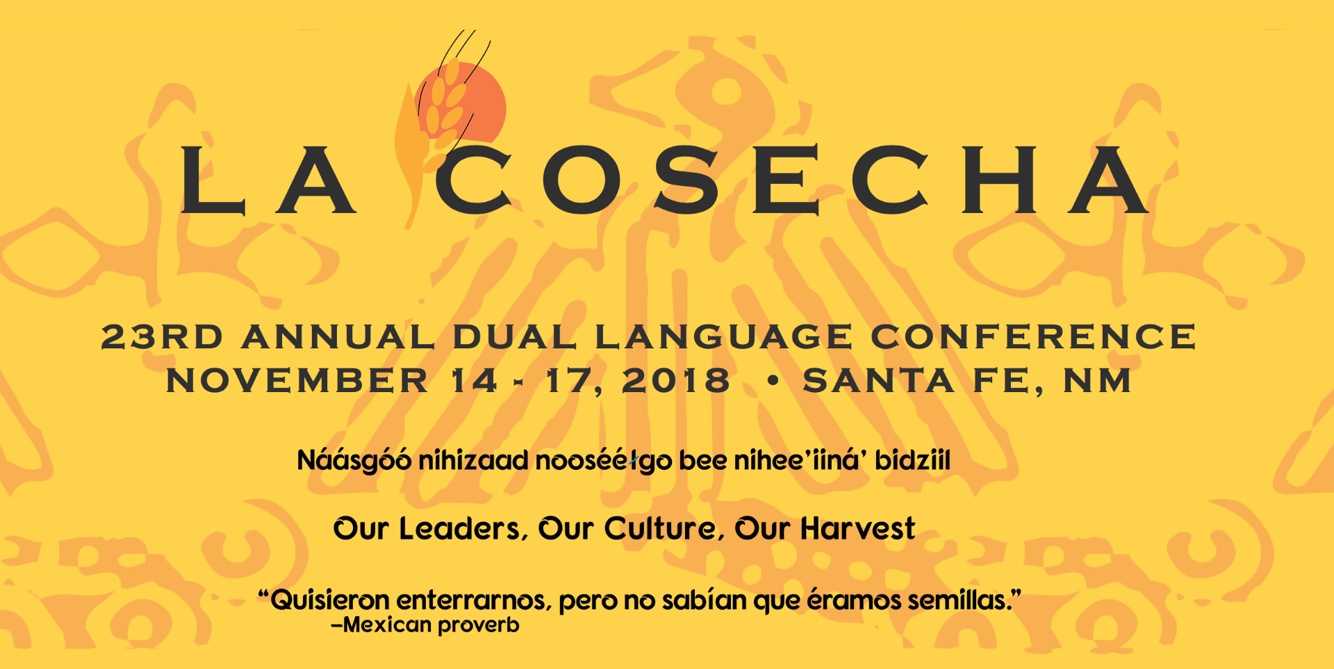 La Cosecha 2018: Updates from the Field