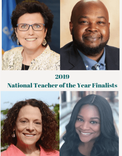 The 2019 National Teacher of the Year To Be Announced